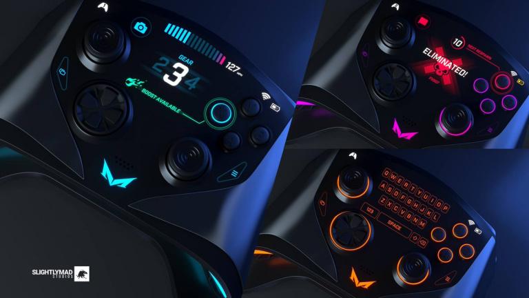 Mad Box : une première série de visuels pour la manette de la console surpuissante