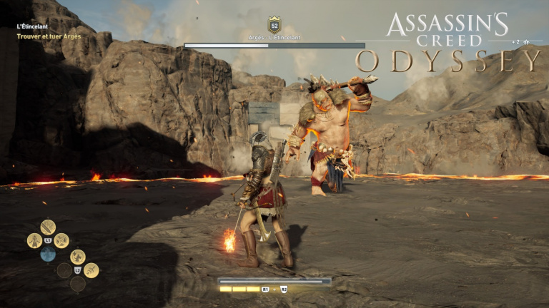 Assassin's Creed Odyssey, Argès l'Étincelant : comment chasser l'ultime Cyclope