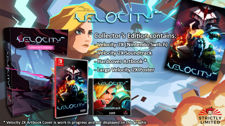 Velocity 2X : Une version physique Switch limitée chez Strictly Limited Games