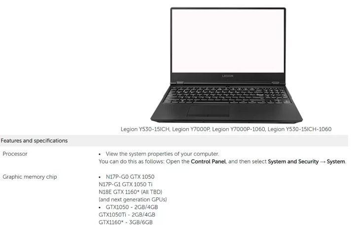 Nvidia : Une GTX 1160 listée par un fabricant