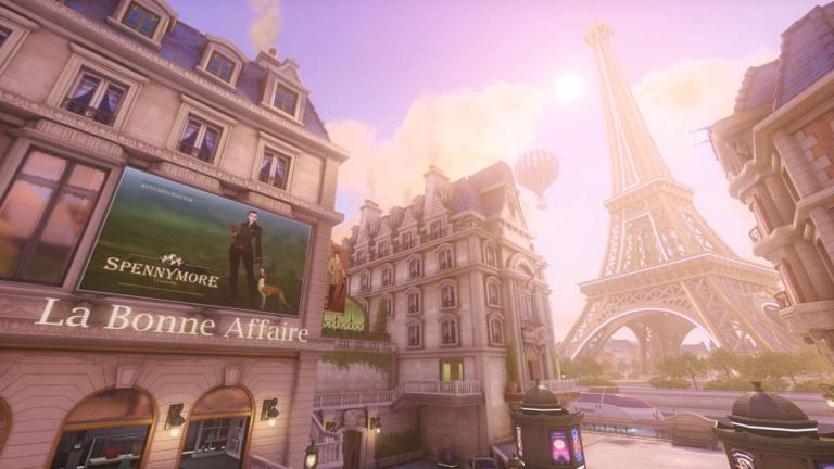 Les possesseurs d'Overwatch jouent du piano dans Paris