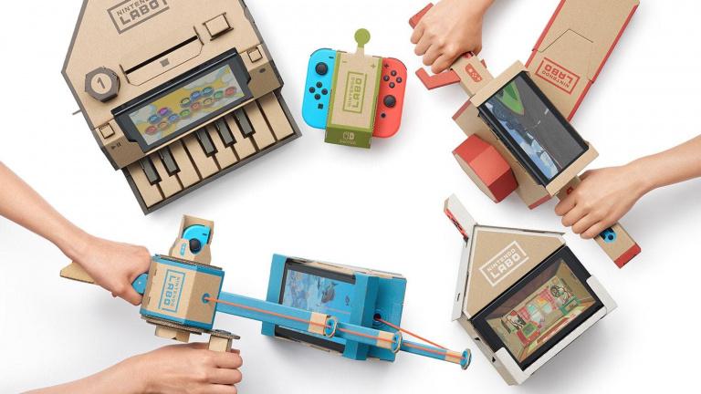 Un million de ventes pour le Nintendo Labo