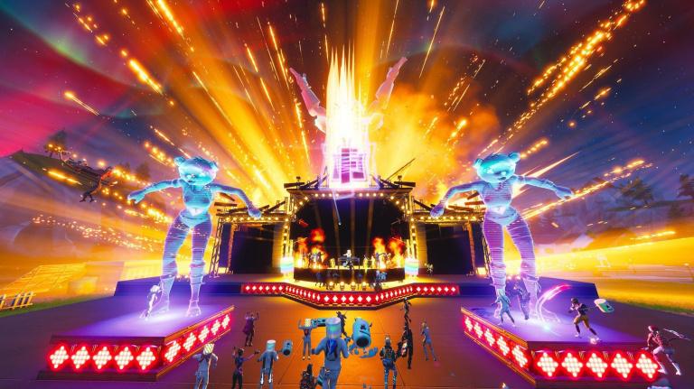 Fortnite : 10 millions de joueurs ont assisté en direct au concert in-game de Marshmello
