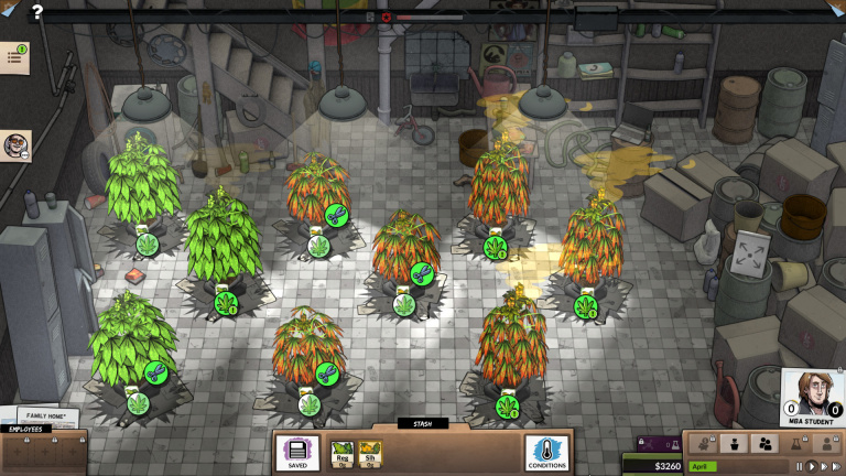 Weedcraft Inc : le jeu de gestion stupéfiant débarquera en avril