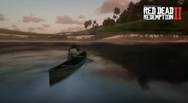 Red Dead Redemption 2 : comment dépasser les limites de la map… En canoë