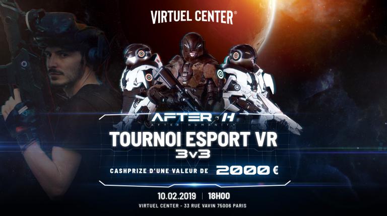 Réalité virtuelle : Un tournoi eSport sur After H au Virtuel Center de Paris