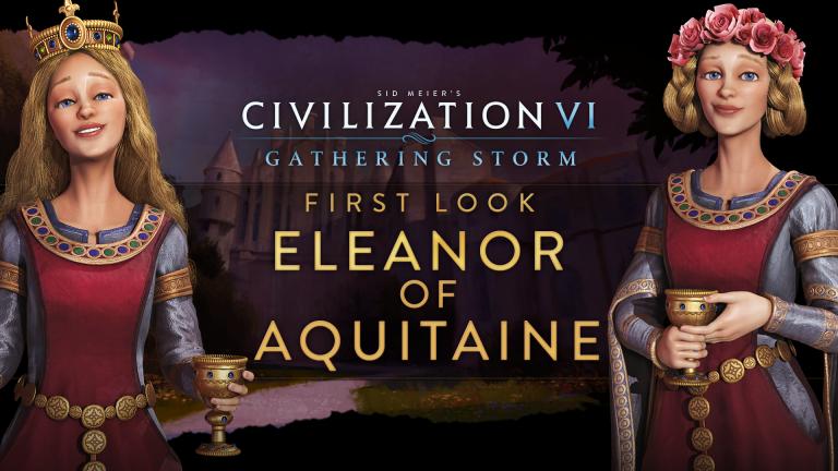 Civilization VI : Gathering Storm - Aliénor d'Aquitaine pratique un double jeu