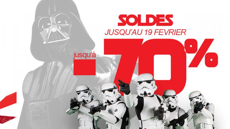 We Are Fans : -70% sur de nombreux goodies Star Wars !