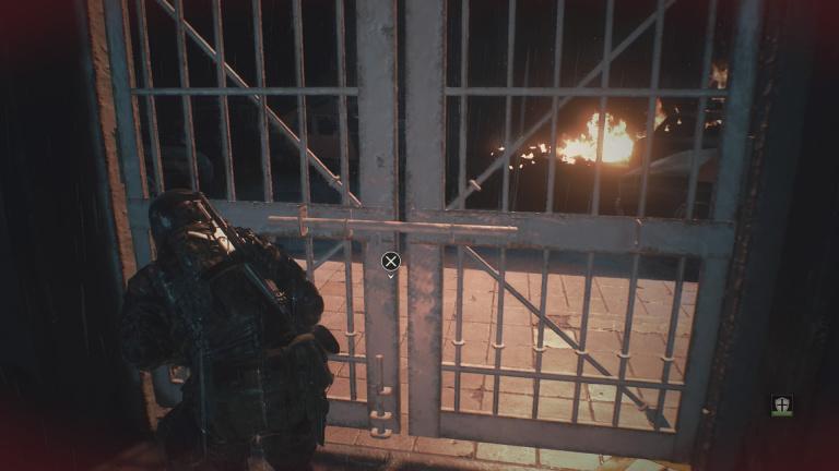 Commissariat de Racoon City (Hunk - Le 4e Survivant)