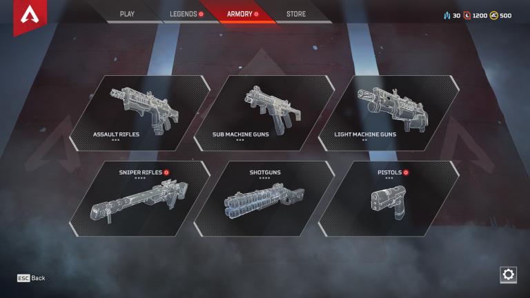 Guide des armes