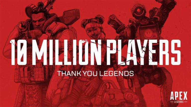 Apex Legends atteint les dix millions de joueurs en trois jours
