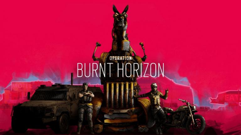 Rainbow Six Siege : Ubisoft annonce l'Opération Burnt Horizon