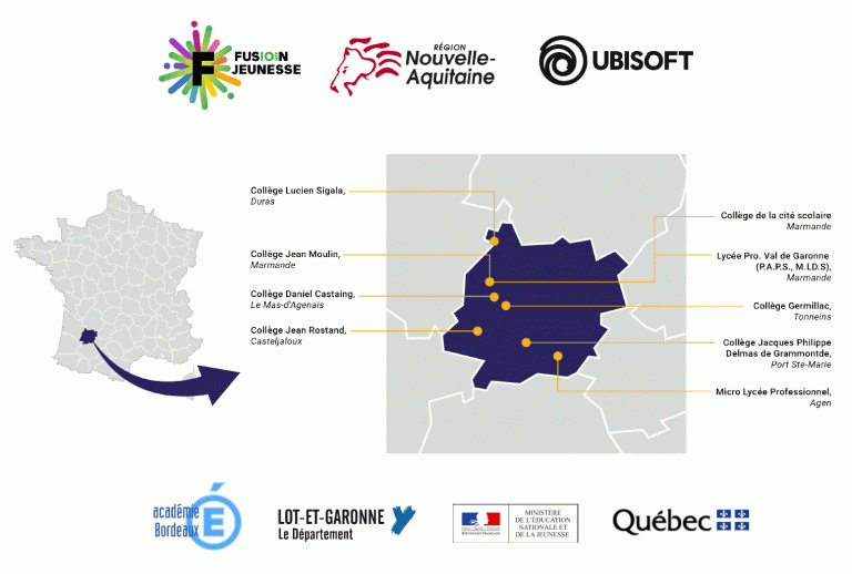 Le jeu vidéo utilisé pour lutter contre le décrochage scolaire dans le Lot-et-Garonne