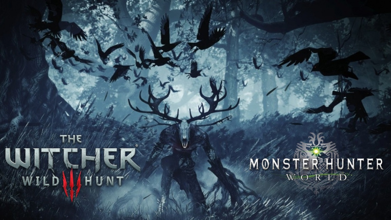 Monster Hunter World, Leshen, The Witcher 3, boss, guide de la quête événement Geralt de Riv