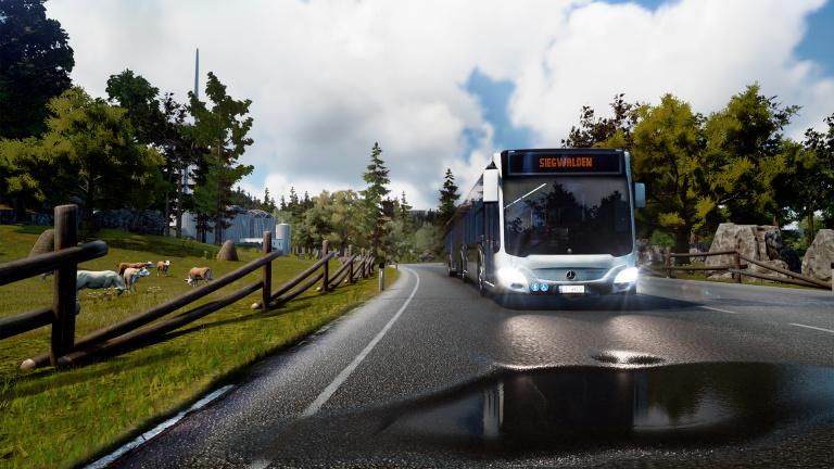 Bus Simulator au printemps sur PlayStation 4