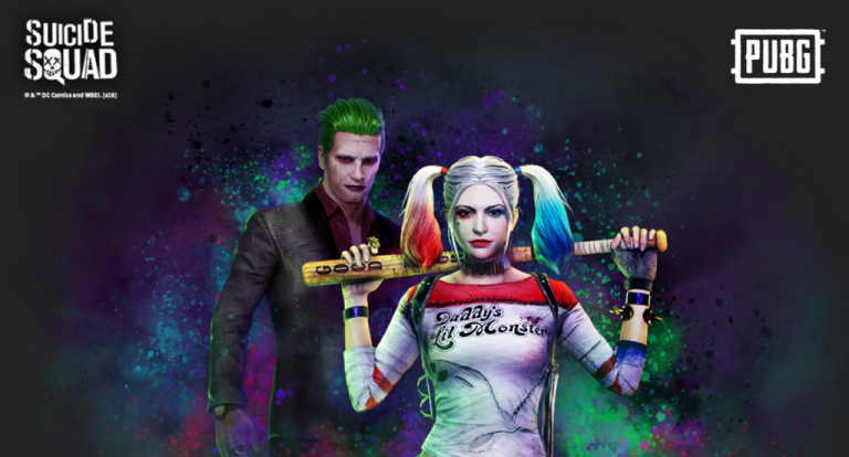 PUBG : Les skins du Joker et Harley Quinn sont disponibles sur PS4
