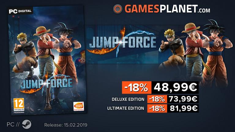 Gamesplanet : Jump Force à prix réduit