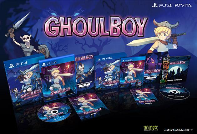 Ghoulboy s'offre une édition limitée chez Play-Asia