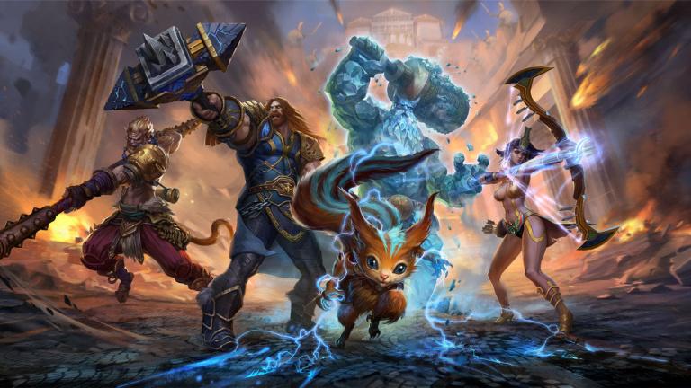 Le crossplay s'invite dans les versions PC, Switch et Xbox One de SMITE