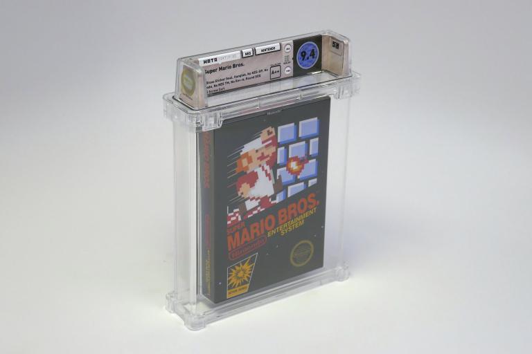 Une copie neuve de Super Mario Bros. s'est vendue 100 150 dollars