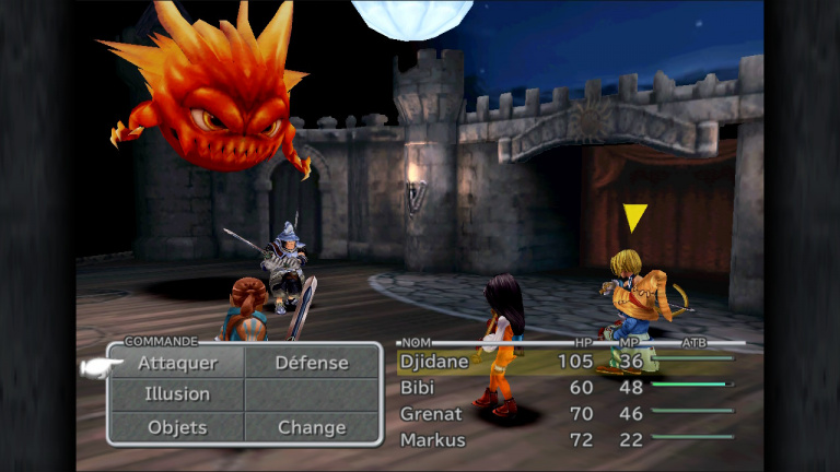 Final Fantasy IX : Une mouture Switch similaire à la version mobile