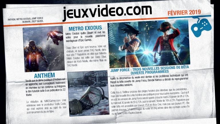 Les infos qu'il ne fallait pas manquer le 19 février : Metro Exodus, Scalebound, Rainbow Six Siege...