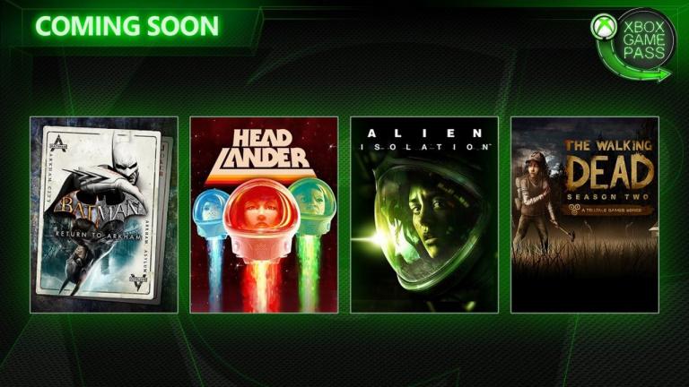 Xbox Game Pass : Alien Isolation, The Walking Dead Saison 2 et deux autres nouveautés annoncées