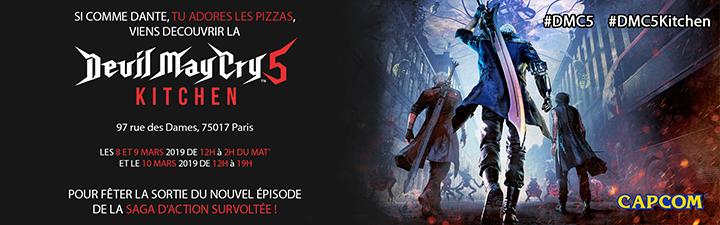 Devil May Cry 5 Kitchen : Un restaurant éphémère à Paris