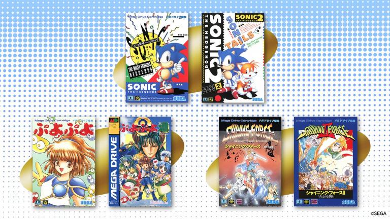 SEGA : des sondages pour choisir certains jeux de la Mega Drive Mini