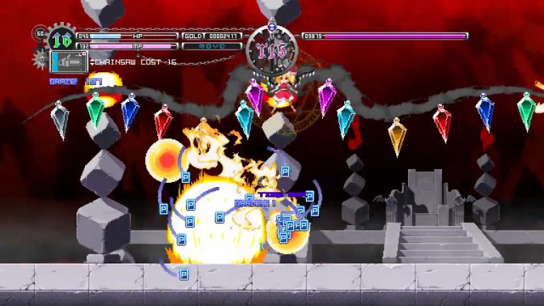Touhou Luna Nights, un metroidvania convaincant pour un grand nom du shoot'em up