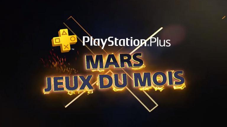 PlayStation Plus : Les jeux gratuits du mois de mars sont...