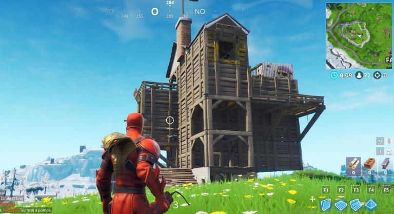 Fortnite, camps de pirates, la carte des emplacements (saison 8, semaine 1)