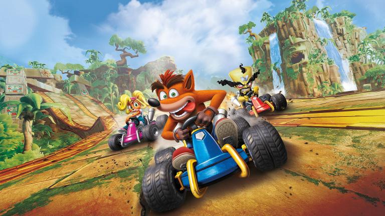 Crash Team Racing Nitro-Fueled et The Division 2 à prix réduit