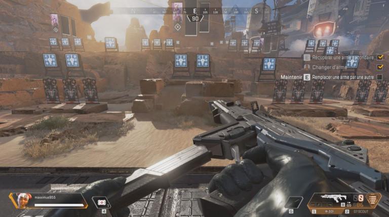 Apex Legends, recharger beaucoup plus rapidement : une astuce découverte par les joueurs