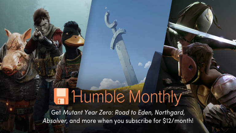 Mutant Year Zero, Northgard et Absolver dans le Humble Monthly d'avril