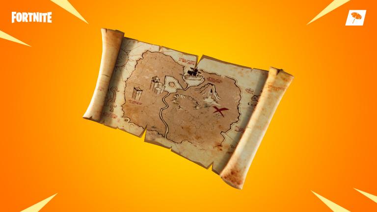 Fortnite : mode temporaire Patinoire et trésor enterré dans le patch 8.01
