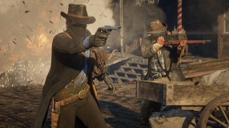 Red Dead Online intègre cette semaine l'activité Trésor de guerre