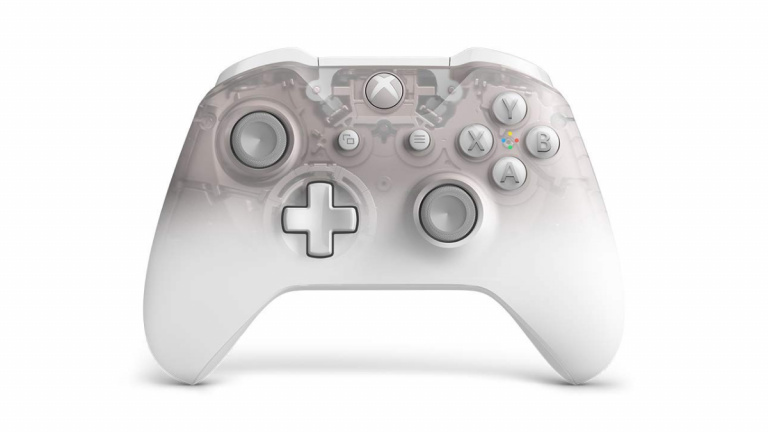 """Xbox One : la manette au coloris """"Phantom White"""" annoncée"""