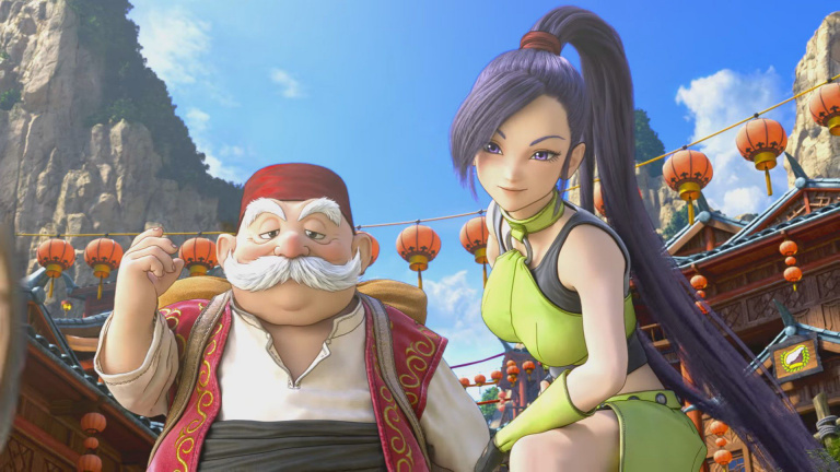 La version Switch de Dragon Quest XI continue de se présenter en images