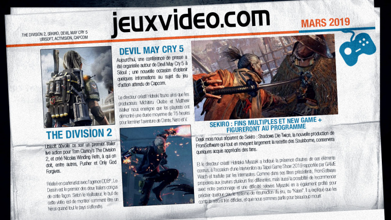 Les infos qu'il ne fallait pas manquer le 14 mars : GDC 2019, Judgment, Apex Legends ...