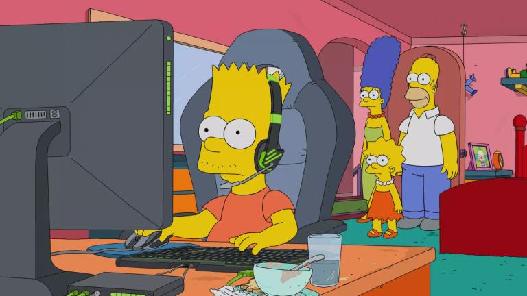 Bart Simpson deviendra une star de l'eSport dans le prochain épisode de la série
