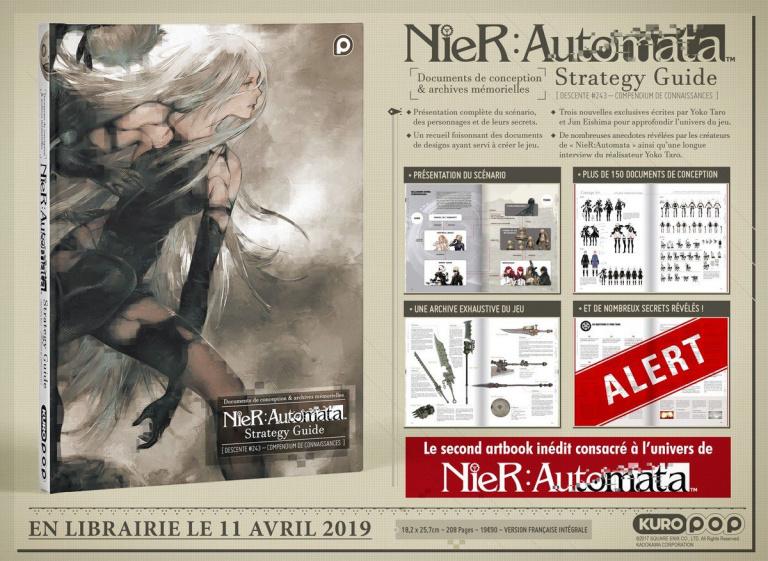 NieR Automata : l'artbook Strategy Guide arrive dans nos librairies en avril