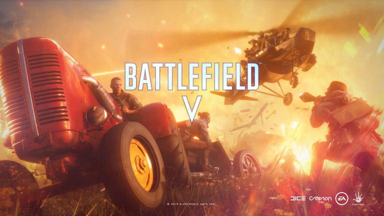 Battlefield V : EA détaille la carte du mode battle royale Firestorm