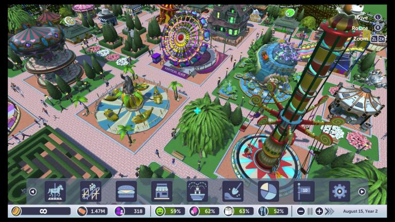 RollerCoaster Tycoon Adventures fait un tour sur l'Epic Games Store