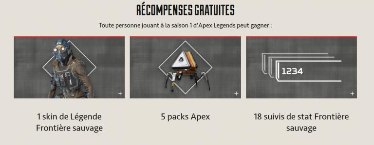 Apex Legends présente sa saison 1, Frontière Sauvage