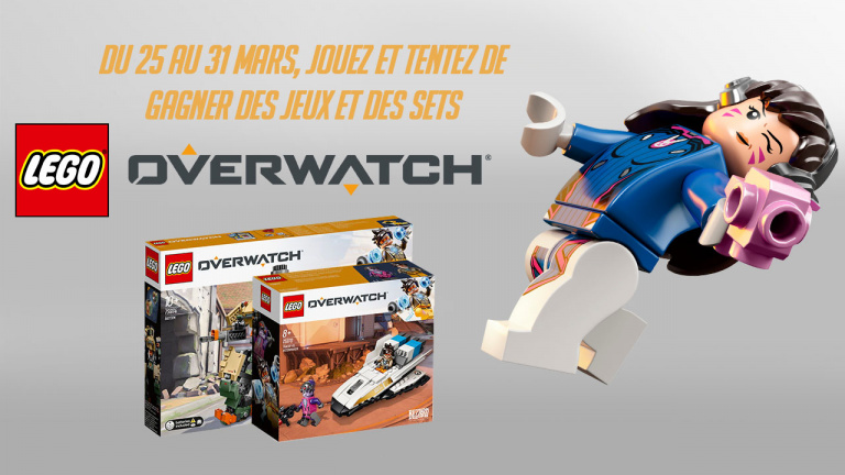 Concours : Gagnez des jeux et des sets LEGO Overwatch !
