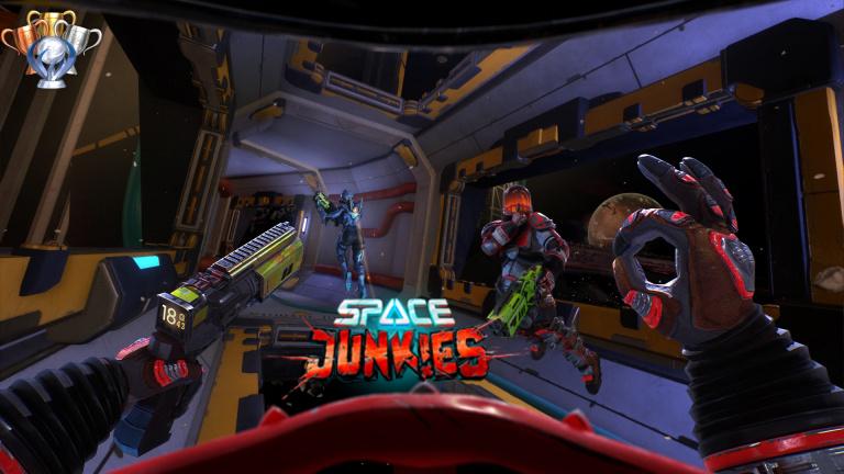 Space Junkies : les trophées et succès des accros du VR
