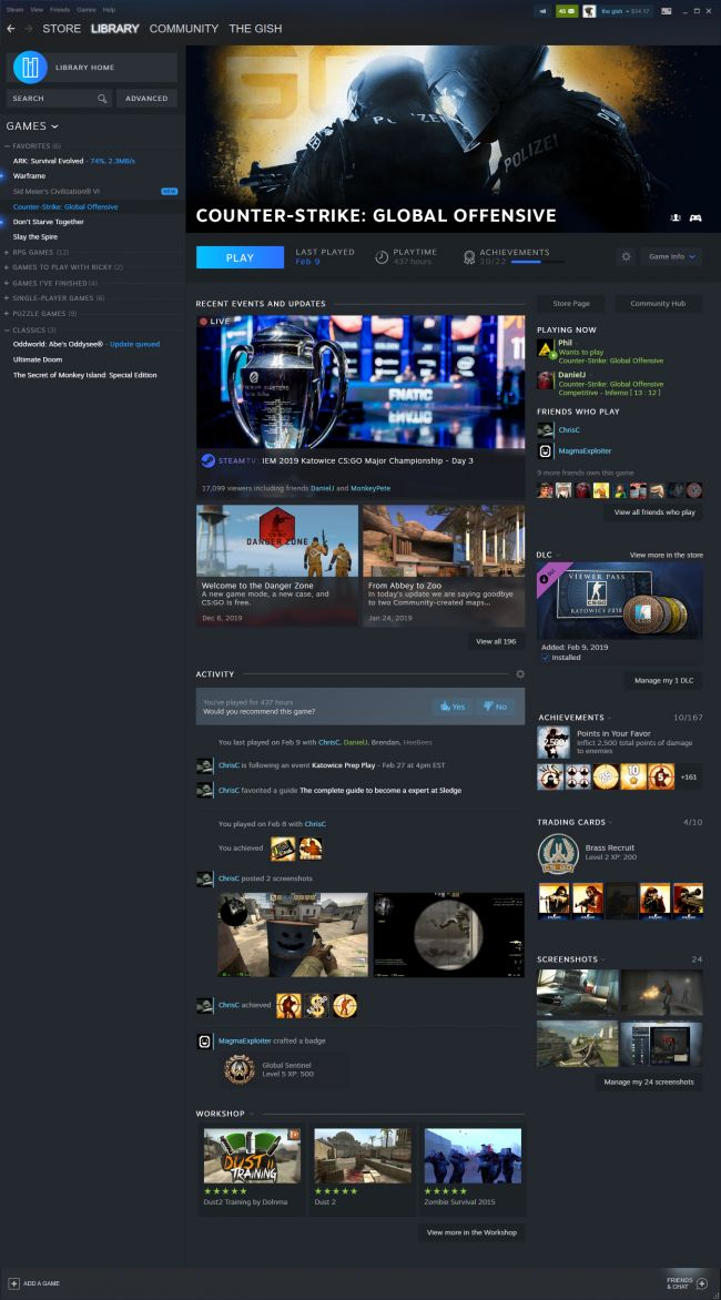 GDC 2019 : un aperçu de la refonte visuelle de Steam