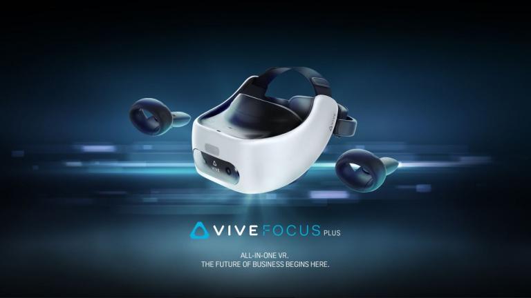 HTC Vive Focus Plus : Une date et un prix pour le casque professionnel