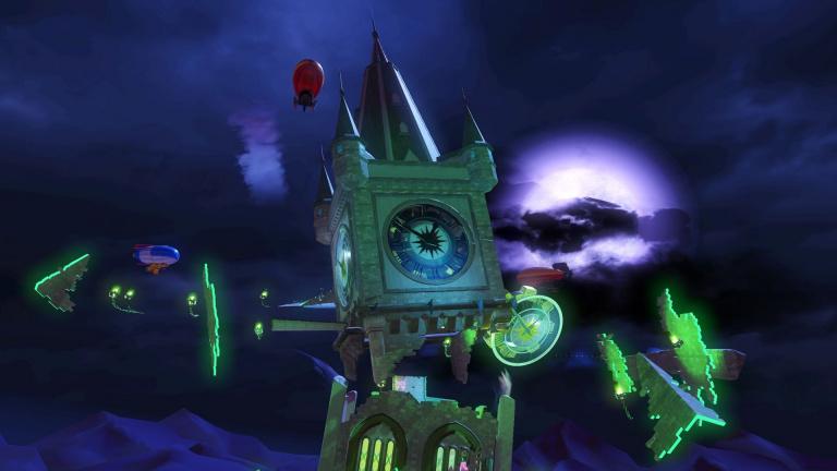Team Sonic Racing nous dévoile son circuit Haunted Castle